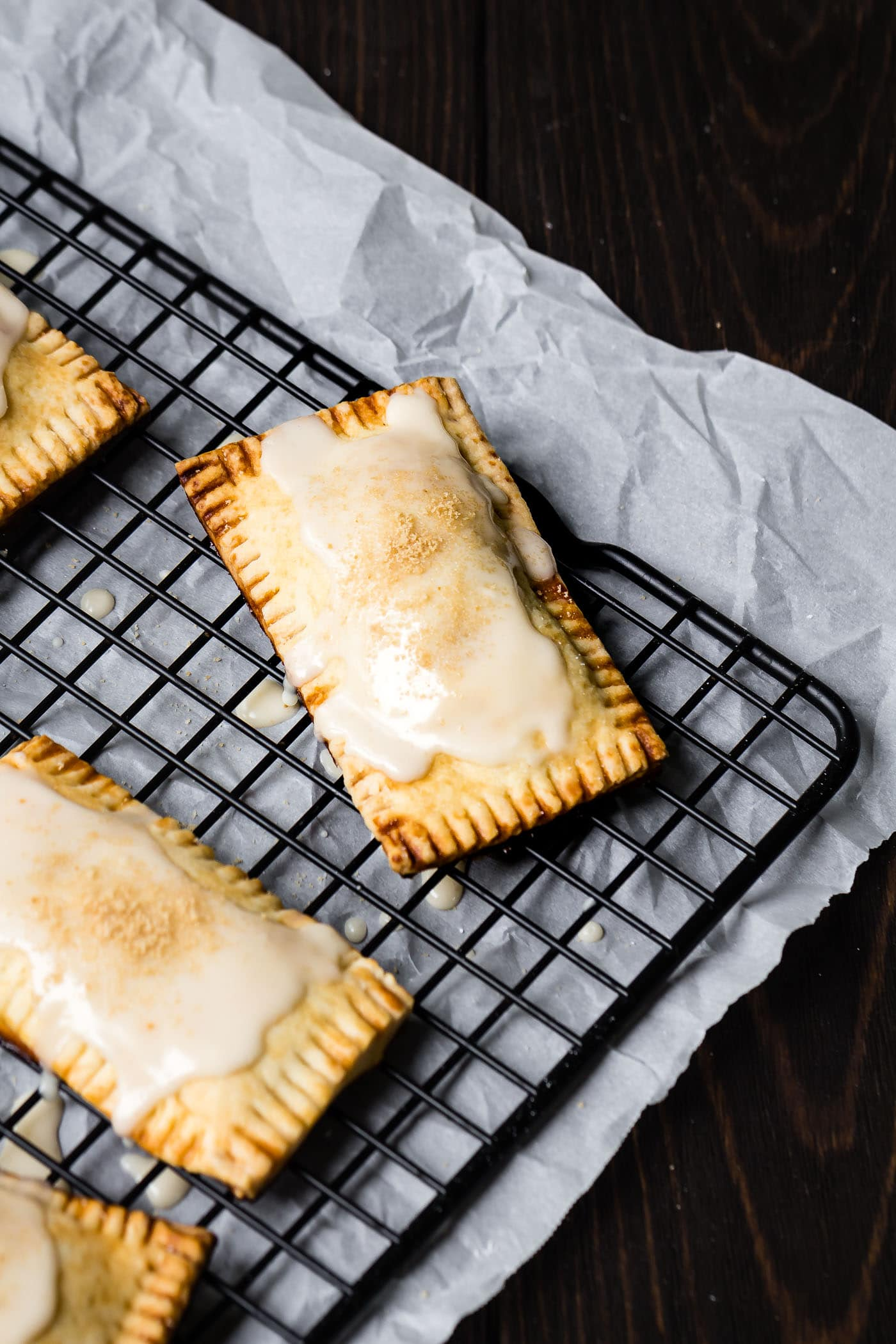 Trendy Freshly Glazed Vegan Maple Pumpkin Pop Tarts On A Ing Rack Vegan Maple Pumpkin Pop Tarts Recipe Le Petit Eats Are Cinnamon Roll Pop Tarts Vegan Are Pop Tarts Vegan Peta nice food Are Pop Tarts Vegan