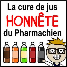 Cure de jus Pharmachien