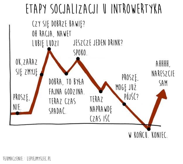 etapy socjalizacji u introwertyka