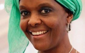 Grace, l'épouse du Président Robert Mugabe.