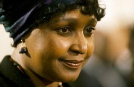 Winnie Mandela, ex-épouse du Président Nelson Mandela.