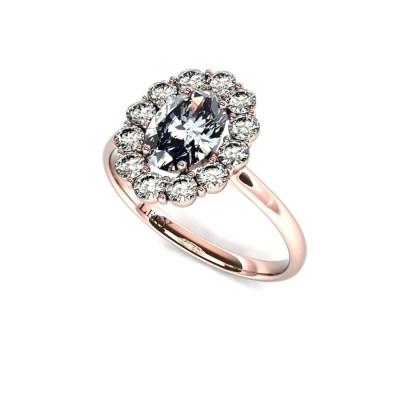 bague-entourage-marguerite-diamants-or-rose-diamant-ovale-0