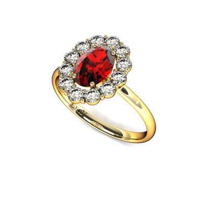 bague-entourage-marguerite-diamants-or-jaune-rubis-ovale-0