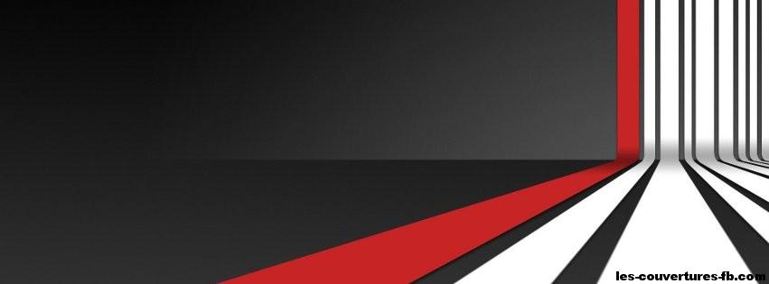papier peint couleur blanc noir et rouge photo de couverture facebook. Black Bedroom Furniture Sets. Home Design Ideas