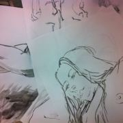 Drawings from the students