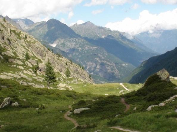 Sur le sentier du Lac Blanc, Chamonix