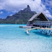 Sur le lagon, Bora Bora, Polynésie Française