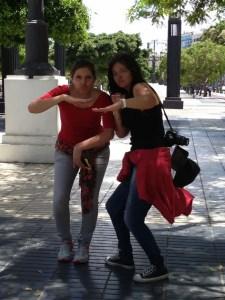 Paty y Paola