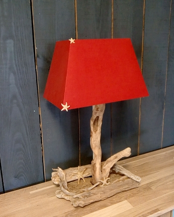 lampe-bois-flotte-cap-ferret-roja