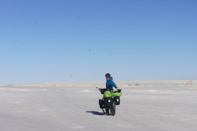 Premiers tours de roues sur le sel