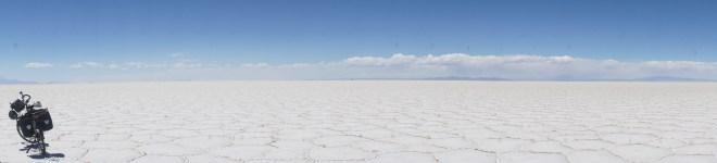 Un océan de sel à 360°
