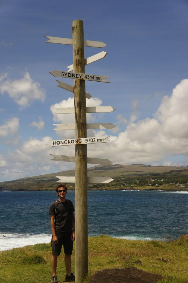 Nous voici au milieu du Pacifique à plusieurs milliers de kilomètres du continent