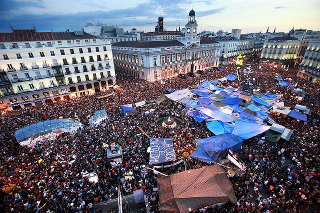 Mouvement 15 M Puerta del Sol | Madrid