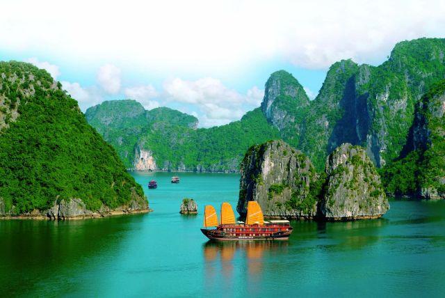 Vietnam baie d'Halong