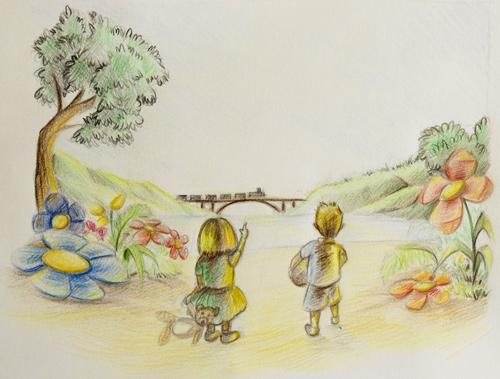 Une illustration féerique à l'aquarelle (article invitée)
