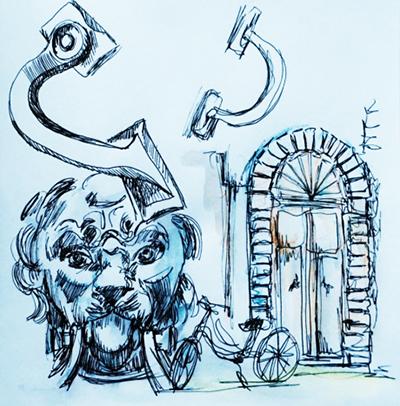 """Apprendre à dessiner le détail """"Spécial Porte"""" #8"""
