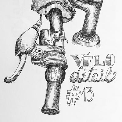 """Apprendre à dessiner le détail """"Spécial vélo"""" #13"""