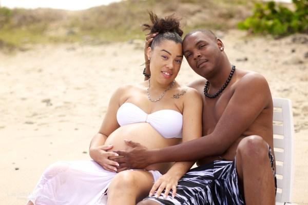 Photo grossesse Martinique 29