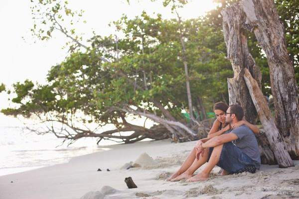 Marion et Arnaud seance amoureux Martinique 1