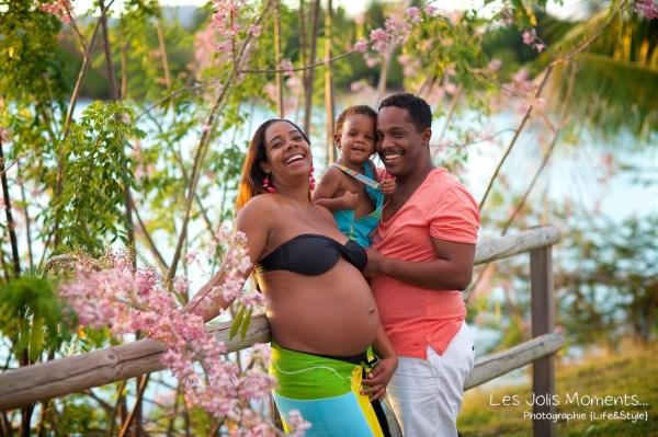 Photos femme enceinte Martinique 6