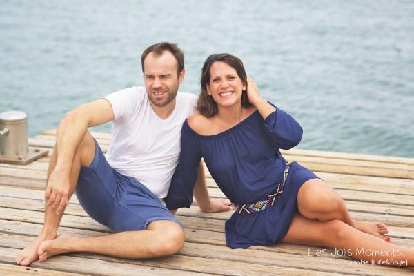 Seance grossesse en famille a la plage Martinique 14