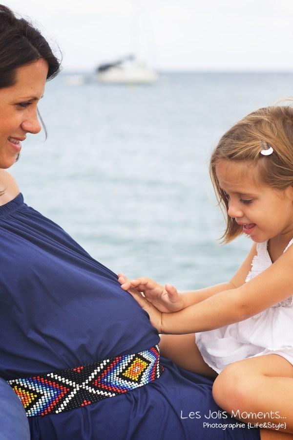 Seance grossesse en famille a la plage Martinique 19