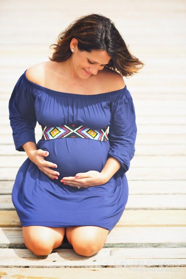 Seance grossesse en famille a la plage Martinique 21