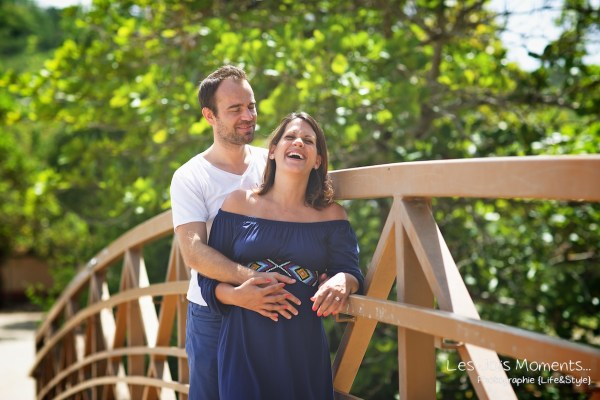 Seance grossesse en famille a la plage Martinique 31