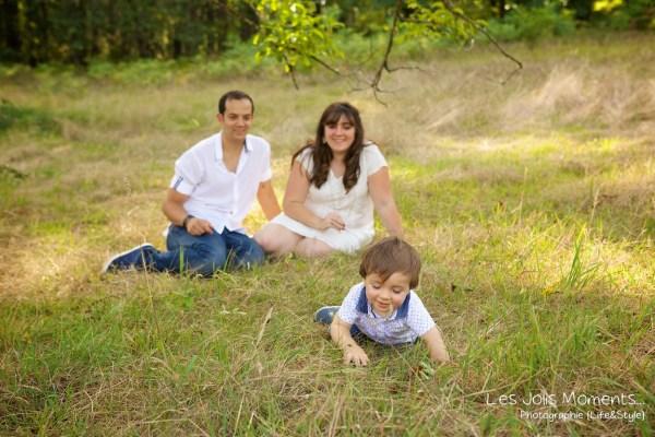 Seance photo famille dans les Landes 1