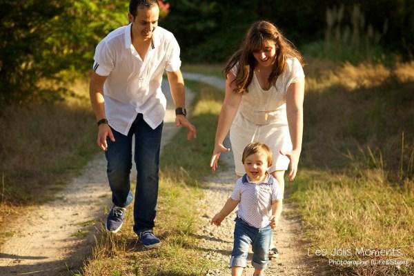 Seance photo famille dans les Landes 16