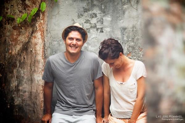 Seance portrait amis Village de la Poterie Martinique 3