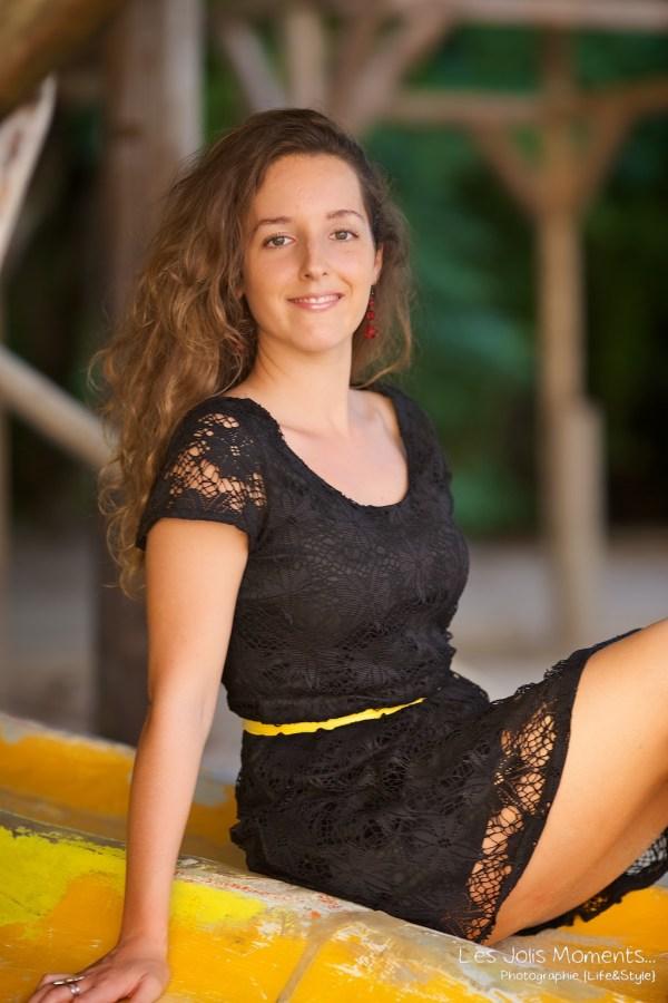 Seance portrait jeune femme martinique 8