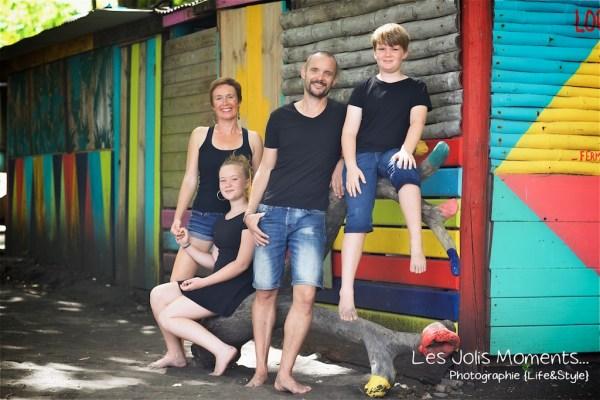 Photos de famille a Anse Noire 14