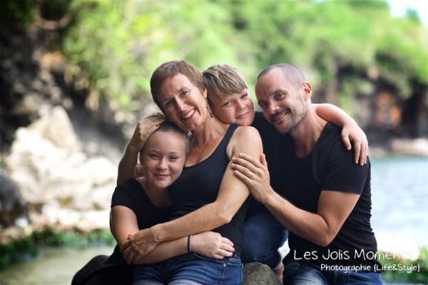 Photos de famille a Anse Noire 18
