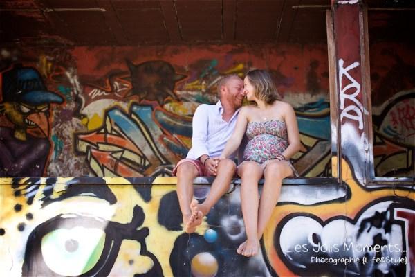 Seance grossesse dans des friches de Martinique 4
