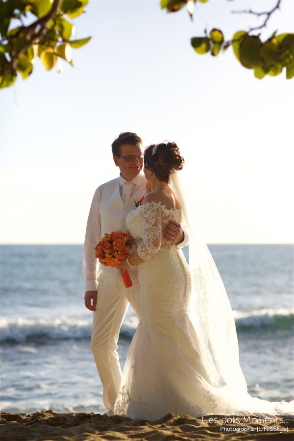 Mariage sur la plage de 2 finlandais en Martinique