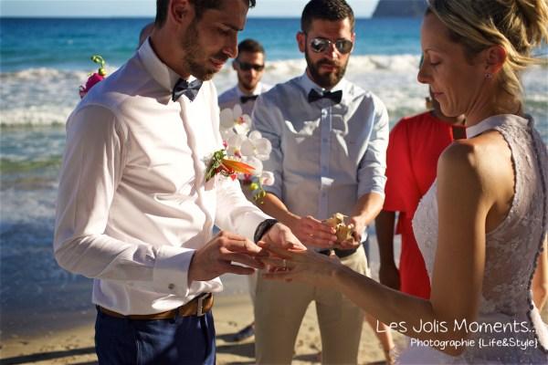 Ceremonie de mariage sur une plage de Martinique 17