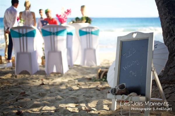 Ceremonie de mariage sur une plage de Martinique 20
