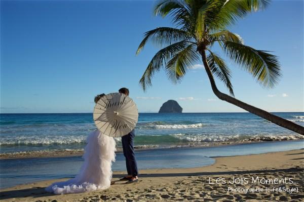 Ceremonie de mariage sur une plage de Martinique 21