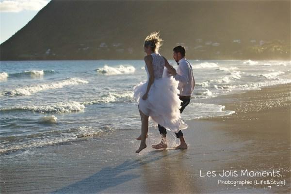 Ceremonie de mariage sur une plage de Martinique 25