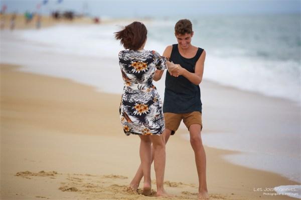 Seance mere fils a la plage 19