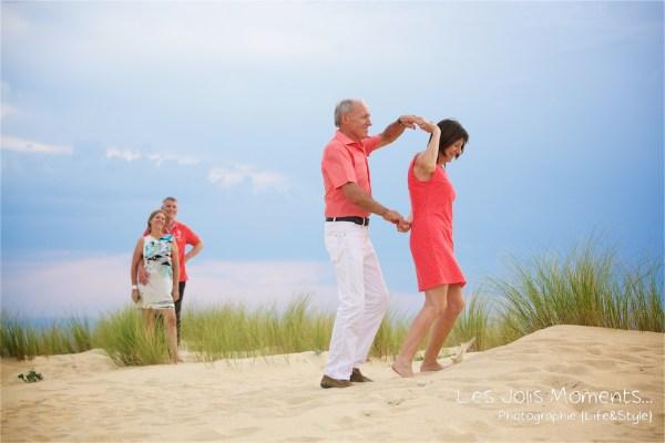 Seance photo dans les dunes des Landes 12