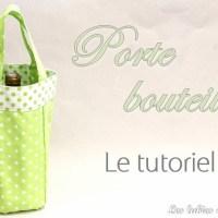 Idée cadeau : Le sac porte bouteille {DIY}