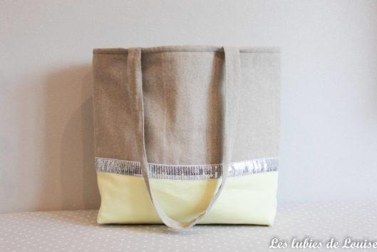 Tuto couture Sac de plage DIY- les lubies de louise f-1