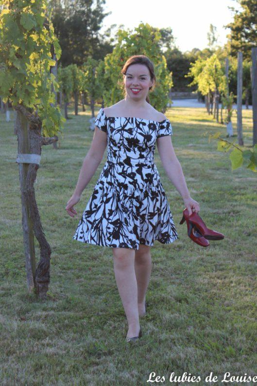 Seda dress pauline alice black and white- les lubies de louise-2