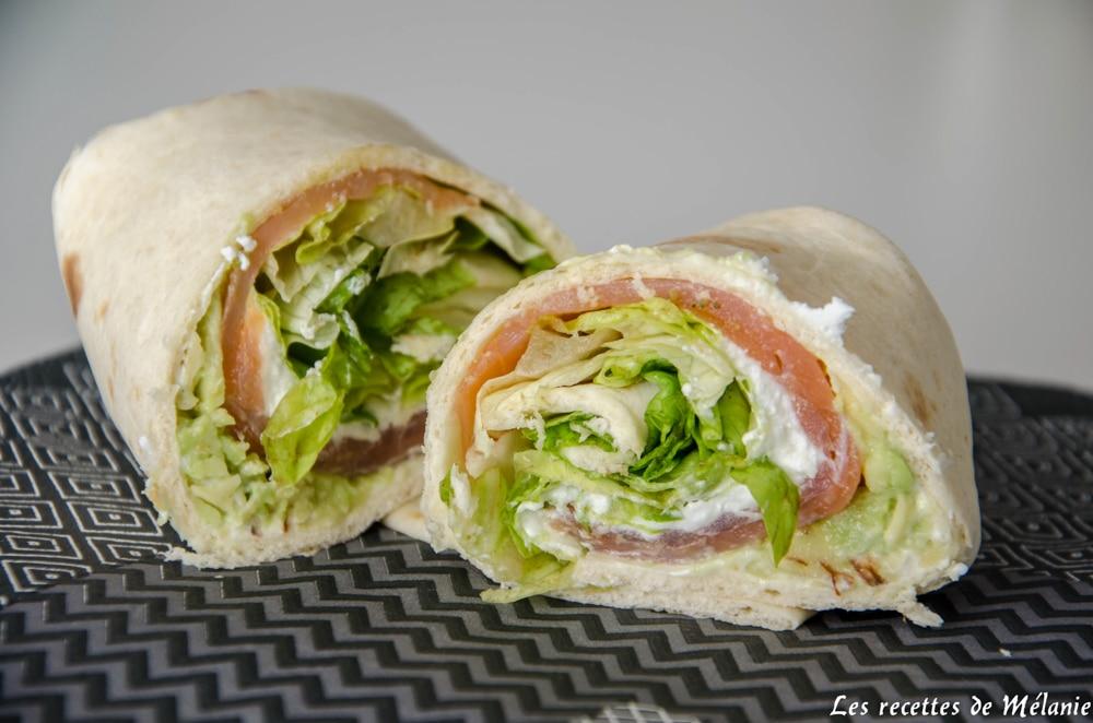 Recettes de wraps simple et rapide pour le déjeuner