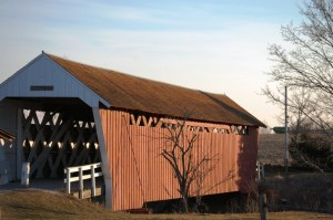 Imes Covered Bridge, St. Charles, Iowa