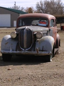 Old Car - Chester, MT