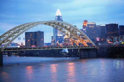 Cincinnati, Ohio as seen from Newport, KY