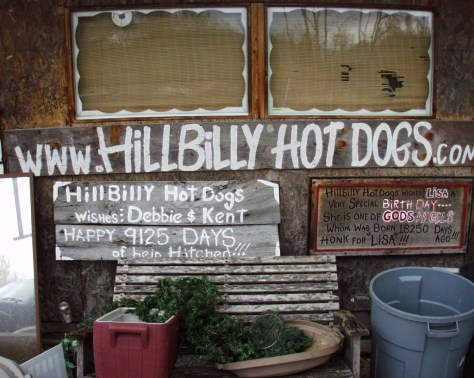 Yes, even hillbillies can have a website....